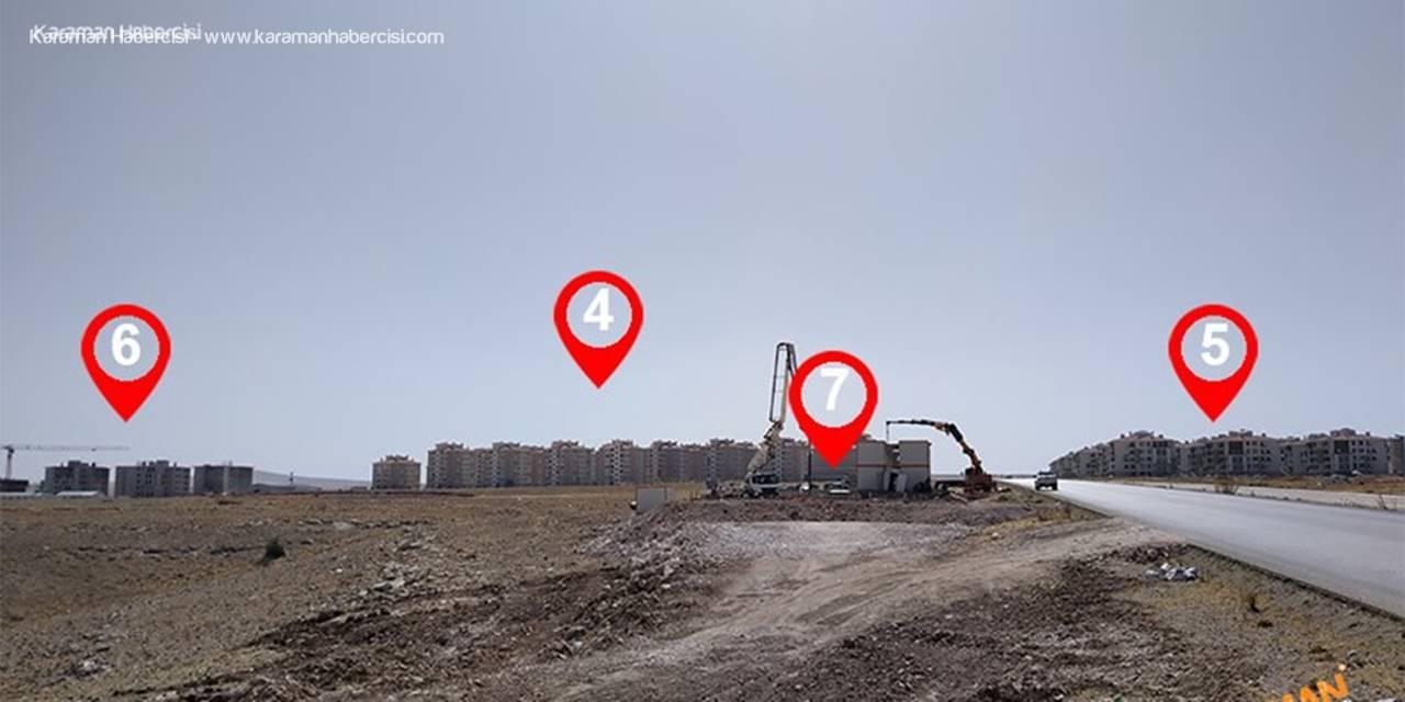 Karaman'da TOKİ 6 ve TOKİ 7 Evlerinde Son Durum