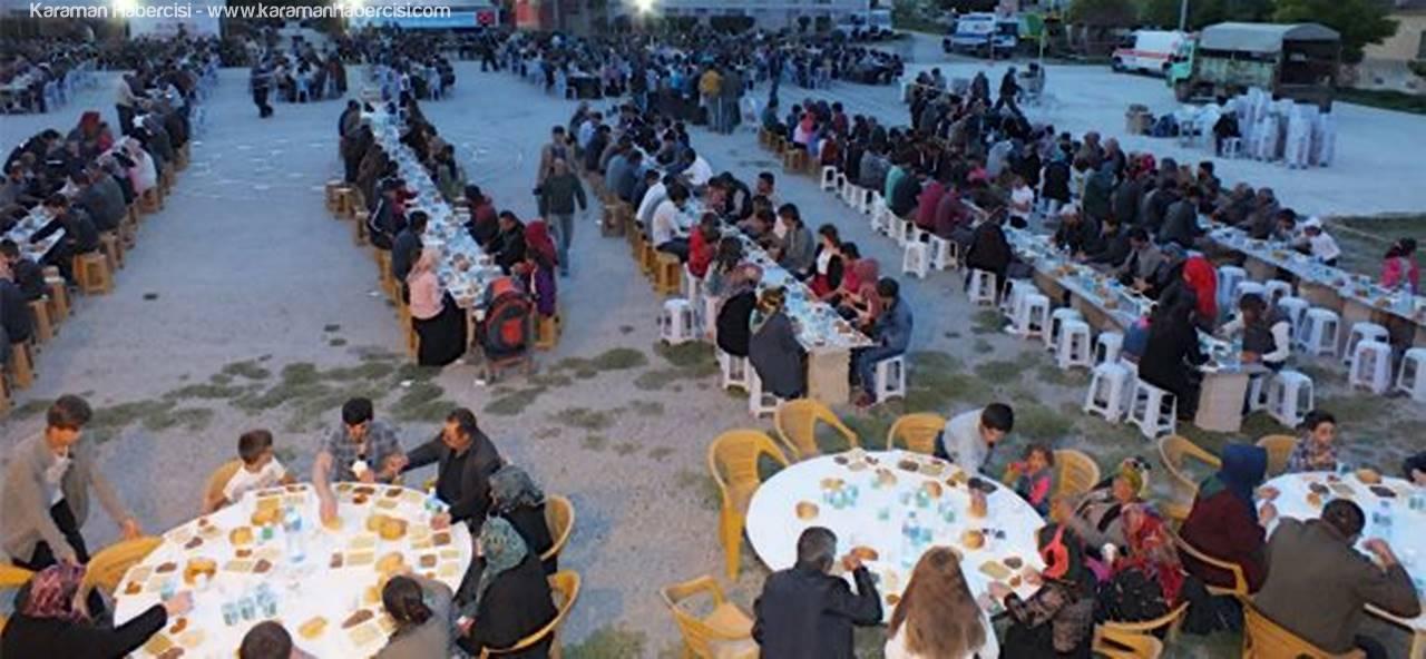 Ayrancı'da 2.300 Kişilik İftar Yemeği