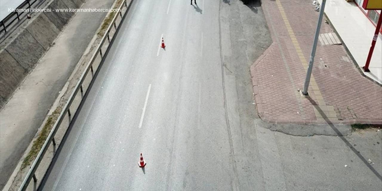 Antalya'da Drone İle Denetlenen Trafikte İhlal Yapan 69 Sürücüye Para Cezası