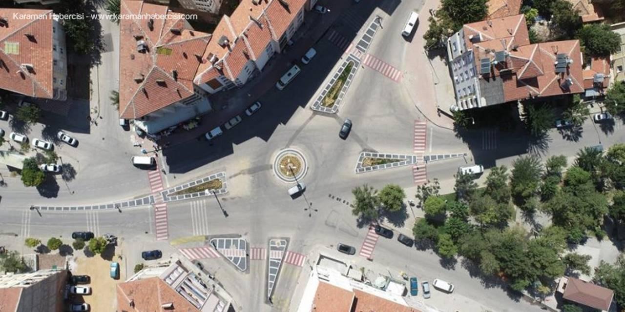 Karaman'da Kavşak ve Yol Düzenlemeleri