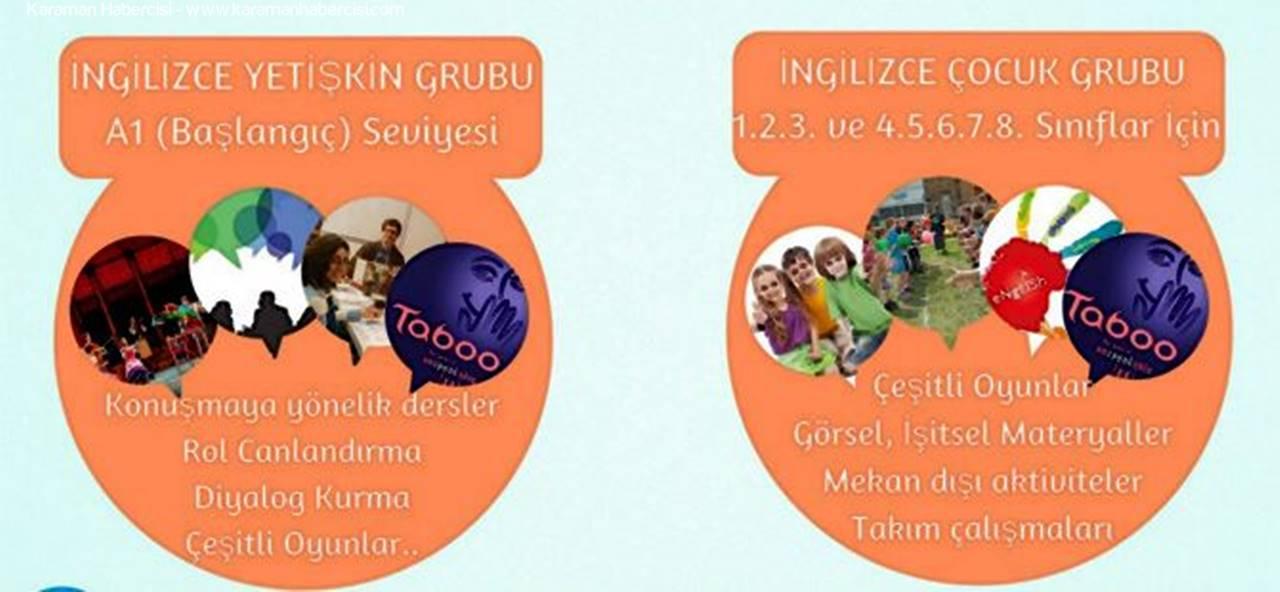 Karaman Gençlik Kulübü'nden İngilizce Kursu