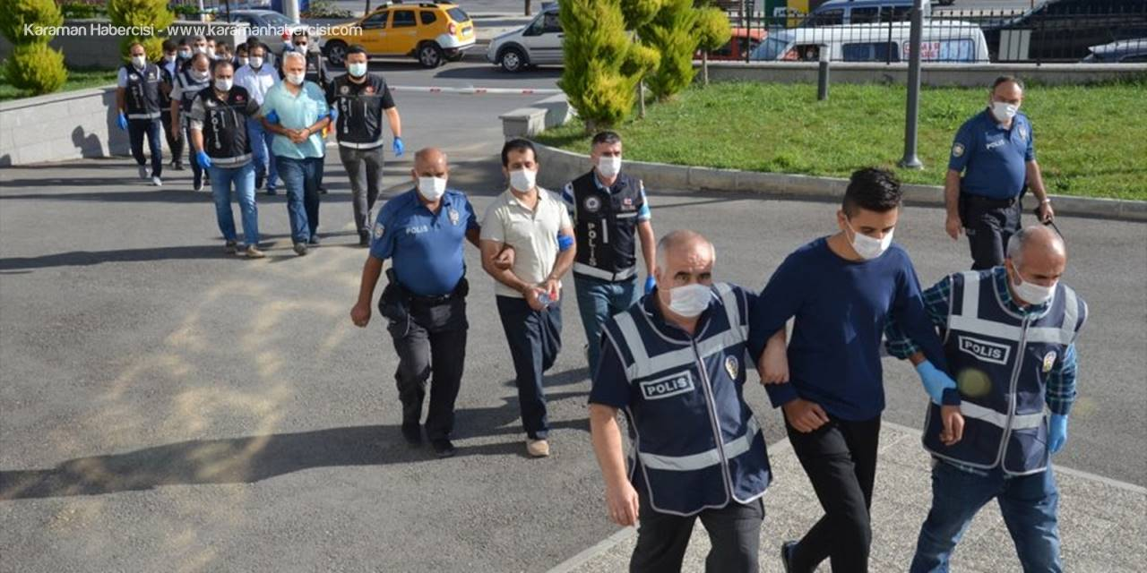 Karaman Merkezli Fetö/pdy Yeniden Yapılanması Operasyonunda 10 Zanlı Yakalandı