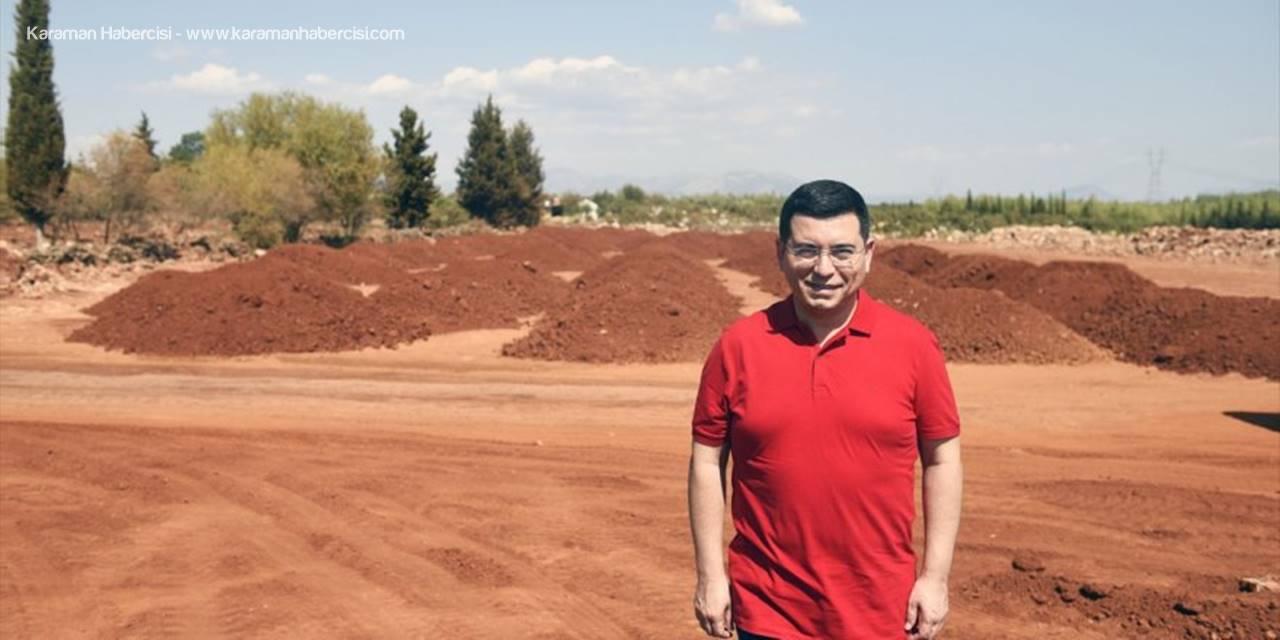 Antalya Orman Çiftliği Arazisine Buğday Ekilecek