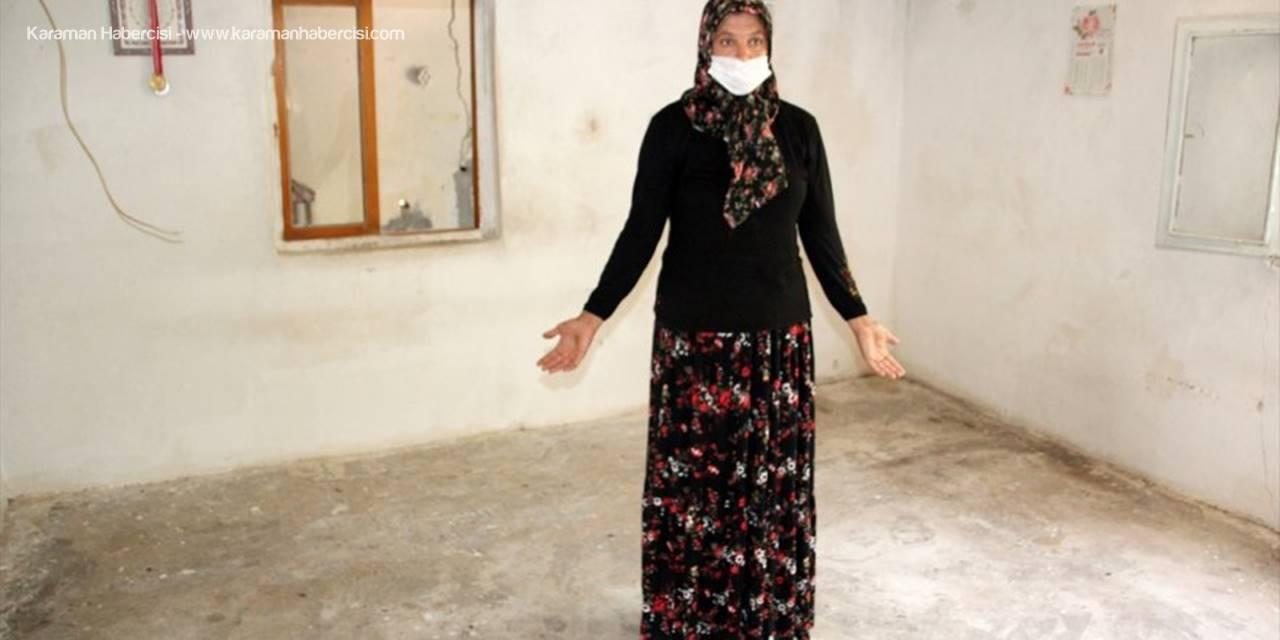 Mersin'de Evden Hırsızlık İddiası