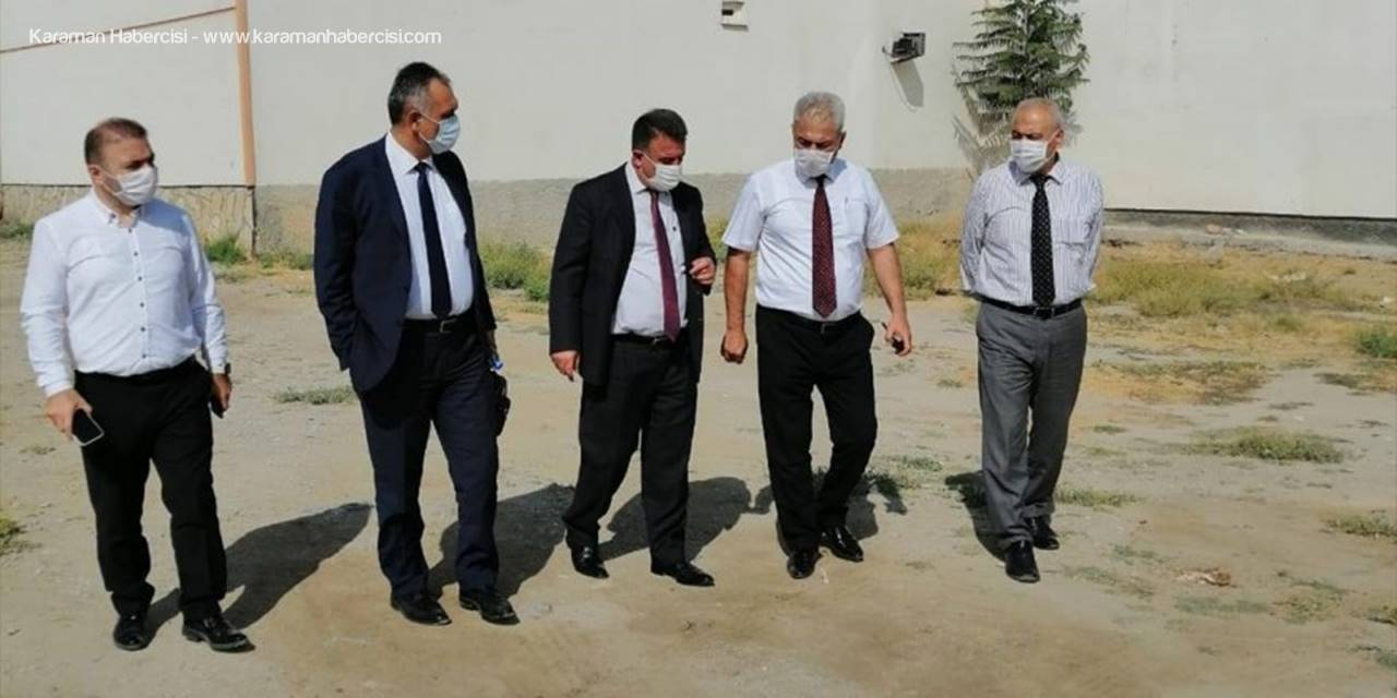 Karaman İl Sağlık Müdürü Kurşun, Ayrancı Ve Akçaşehir'de İncelemelerde Bulundu