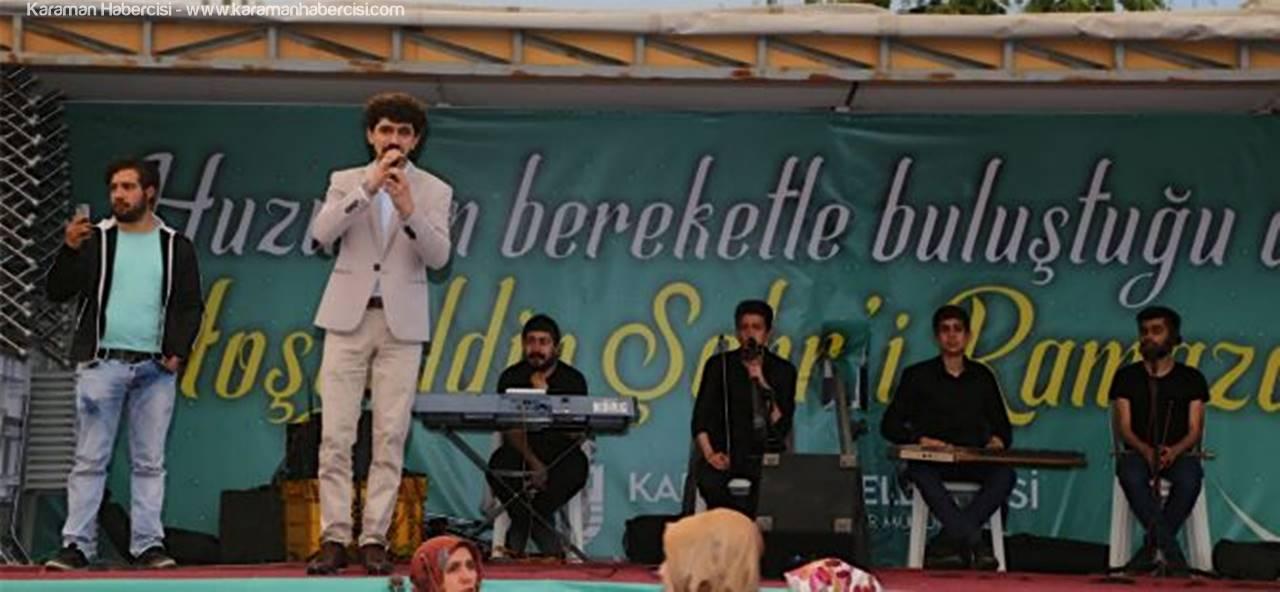 Karaman'da İftar Sofrası Bahçelievler Mahallesi'nde Kuruldu