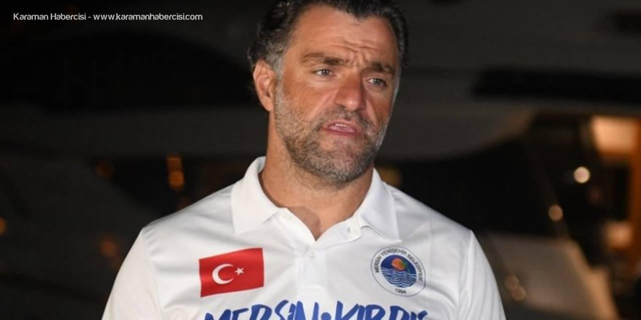 Milli Sporcu Emre Seven'in Mersin'den KKTC'ye Yüzüşü Başladı
