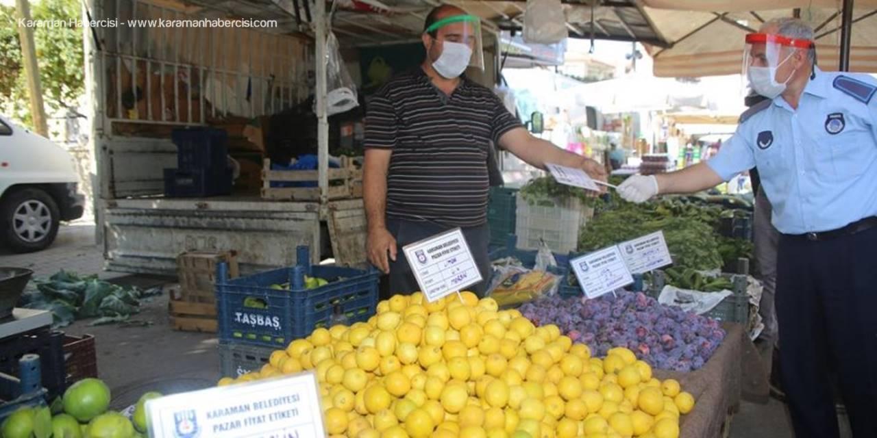 Karaman'da Semt Pazarları İçin Yeni Uygulama