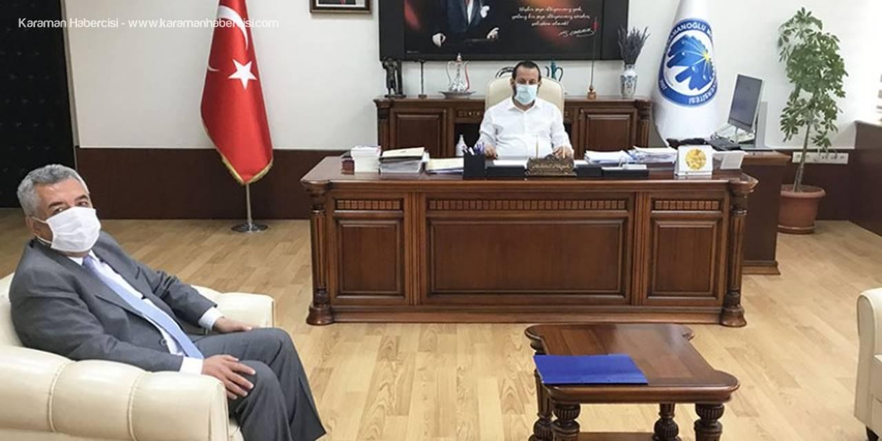 İl Tarım Ve Orman Müdürü Şahinbaş'tan Rektör Akgül'e Ziyaret