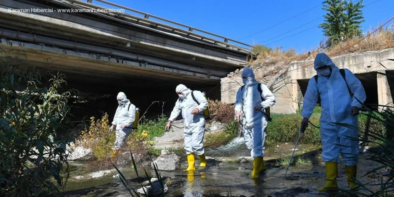 ABB Ankara Çayı'nda Biyolojik Temizlik Başlattı
