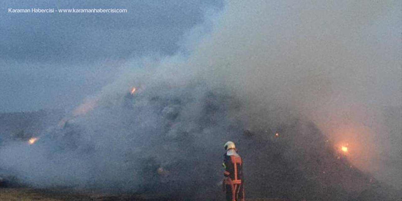 Ankara'da 4 Bin 200 Saman Balyası Yandı