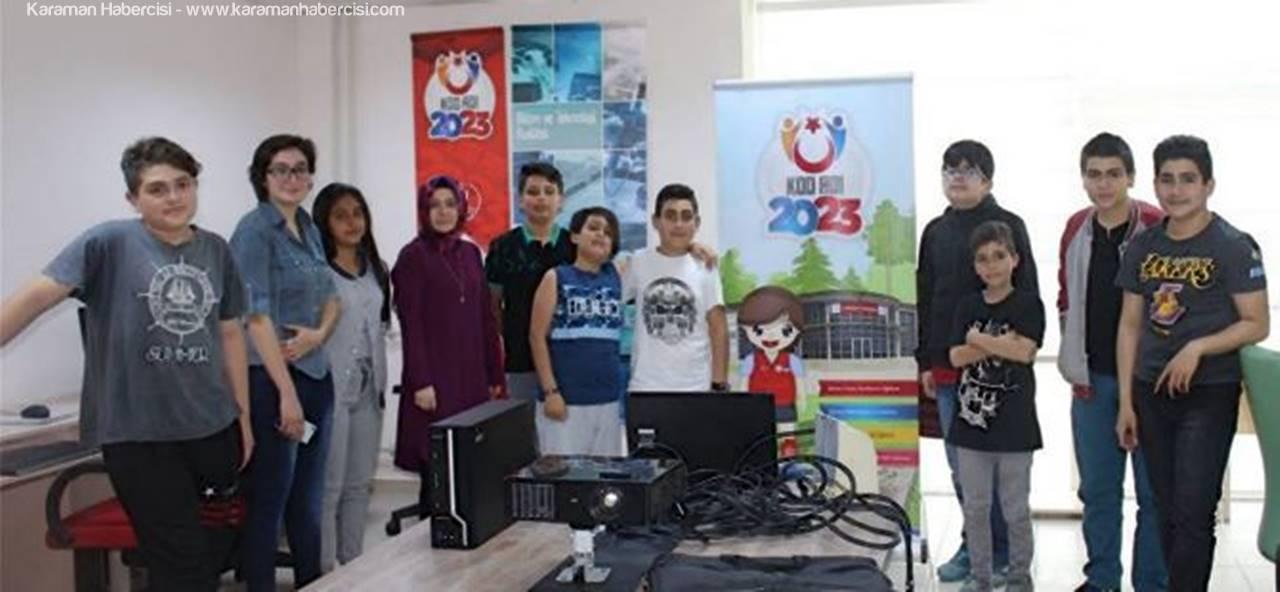 'Kod Adı 2023 Projesi' Gençler Tarafından Yoğun İlgi Görüyor