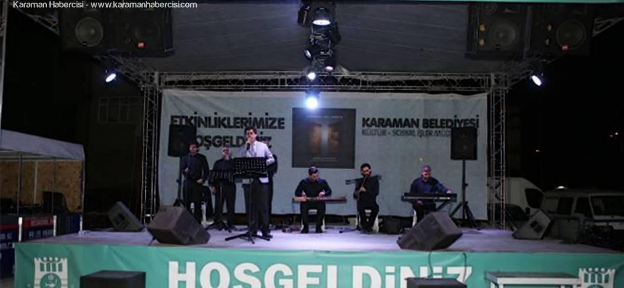 Karaman'da, Ramazan Etkinlikleri Devam Ediyor