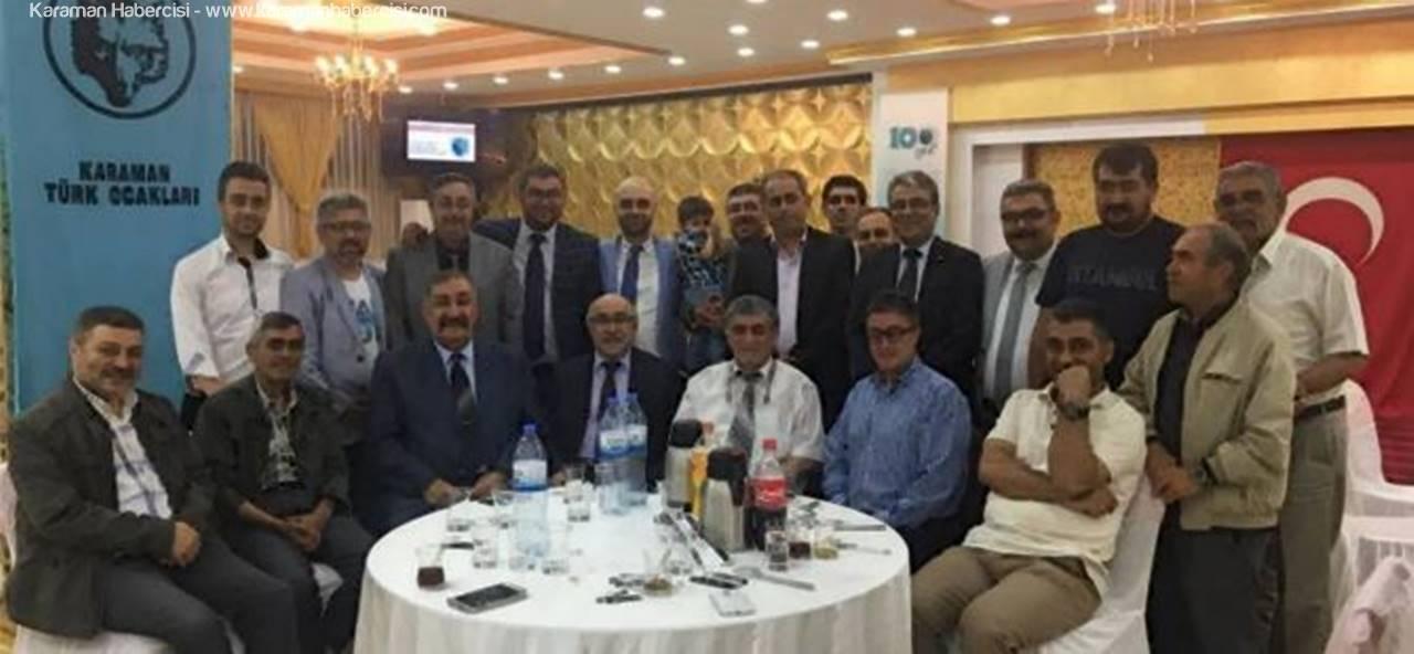 Türk Ocakları, Sultan Kasrı'nda İftar Yemeği Düzenledi