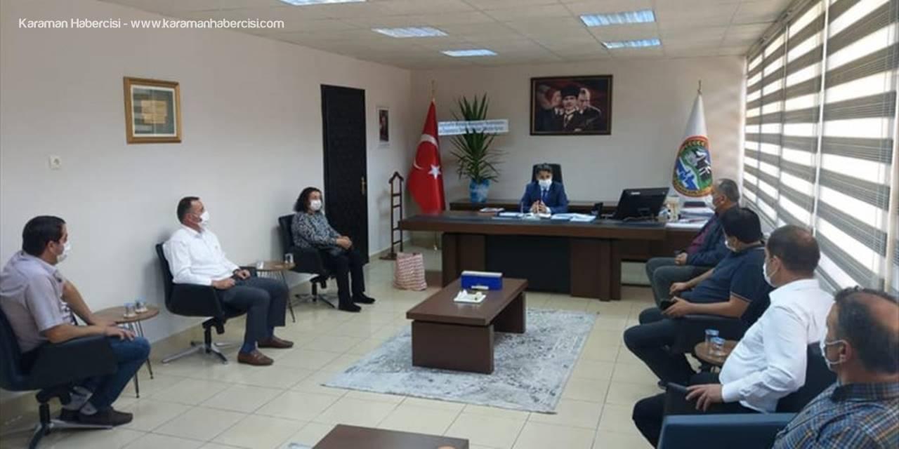 Seydişehir'de Muhtarlardan Kaymakama Ziyaret
