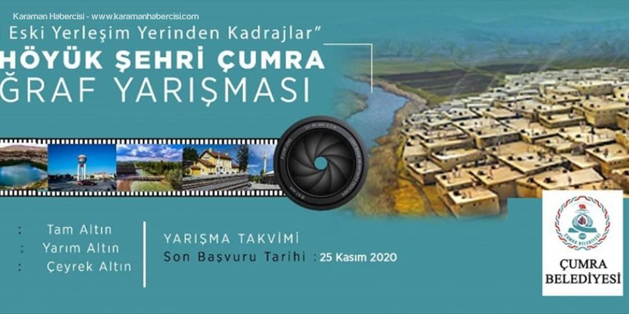 """Çumra Belediyesi """"Çatalhöyük Şehri Fotoğraf Yarışması"""" Düzenliyor"""