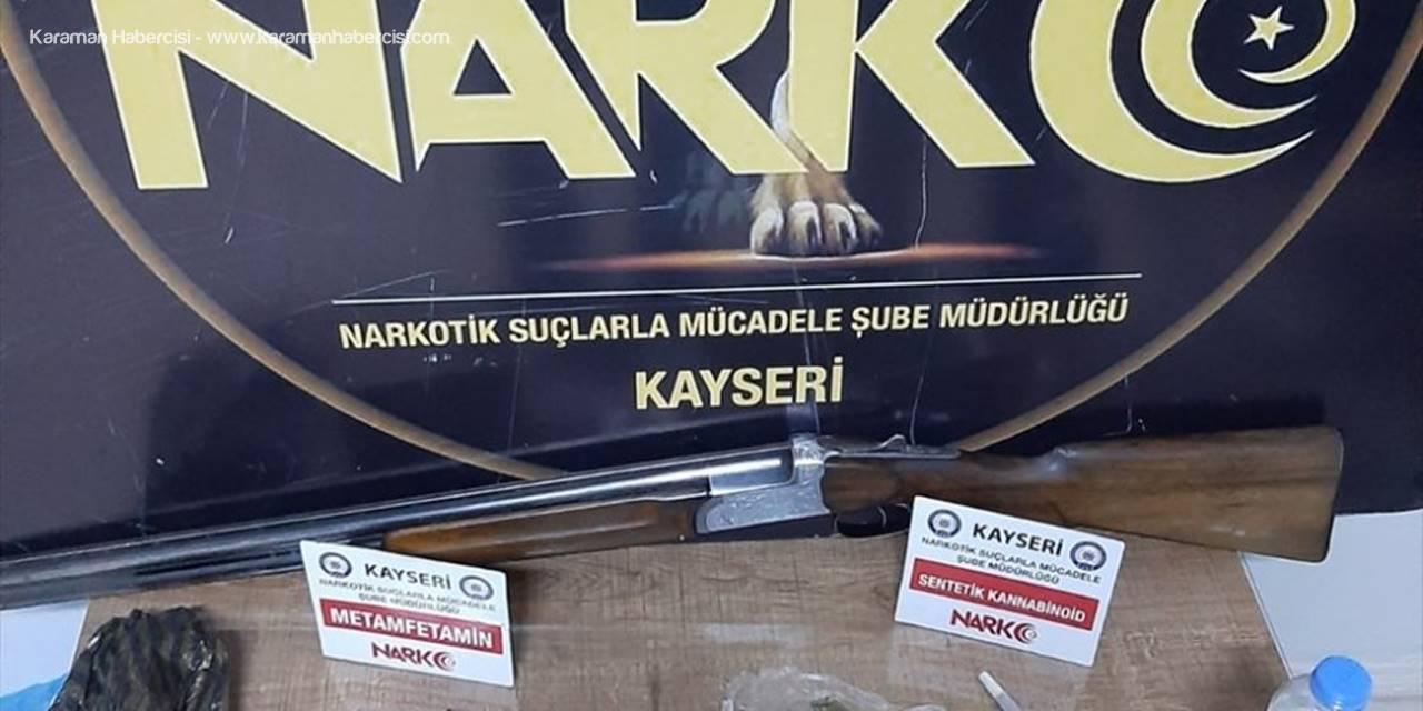 Kayseri'de Uyuşturucu Operasyonunda 3 Zanlı Yakalandı