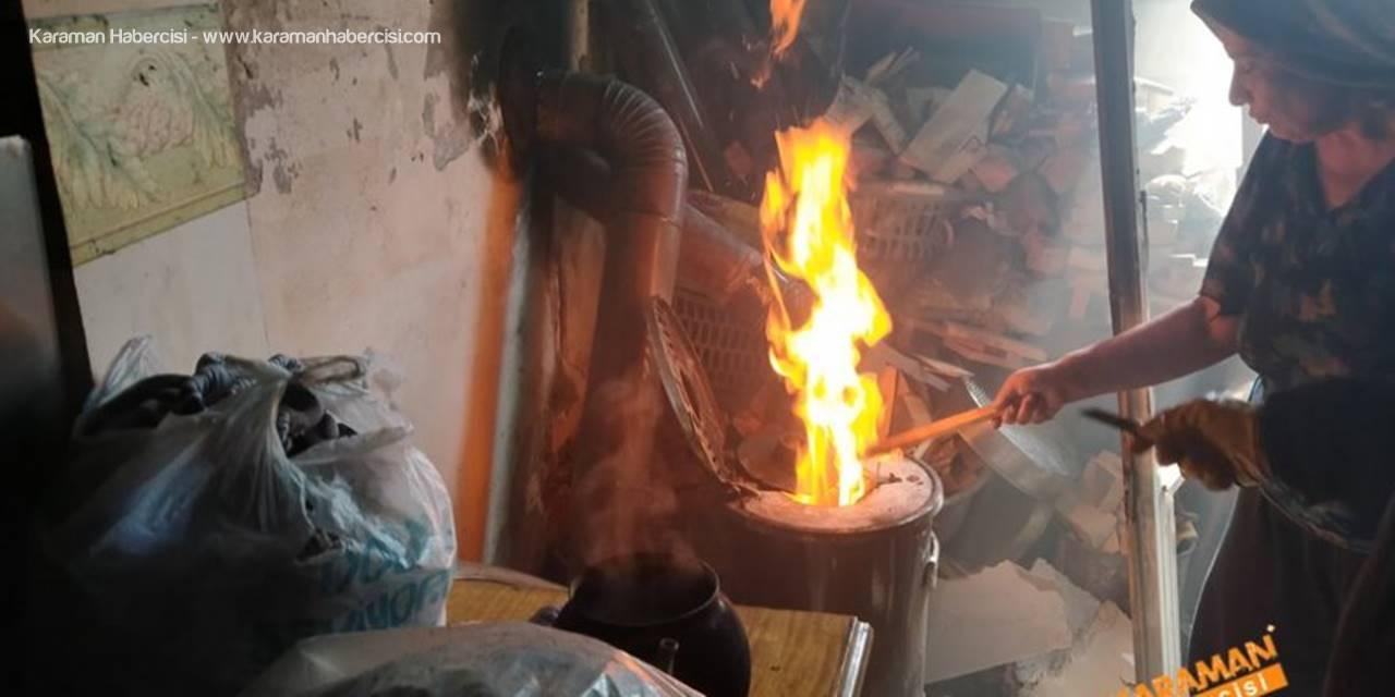 Karaman'da Komşuların Dikkati Yaşlı Kadını Ölümden Kurtardı