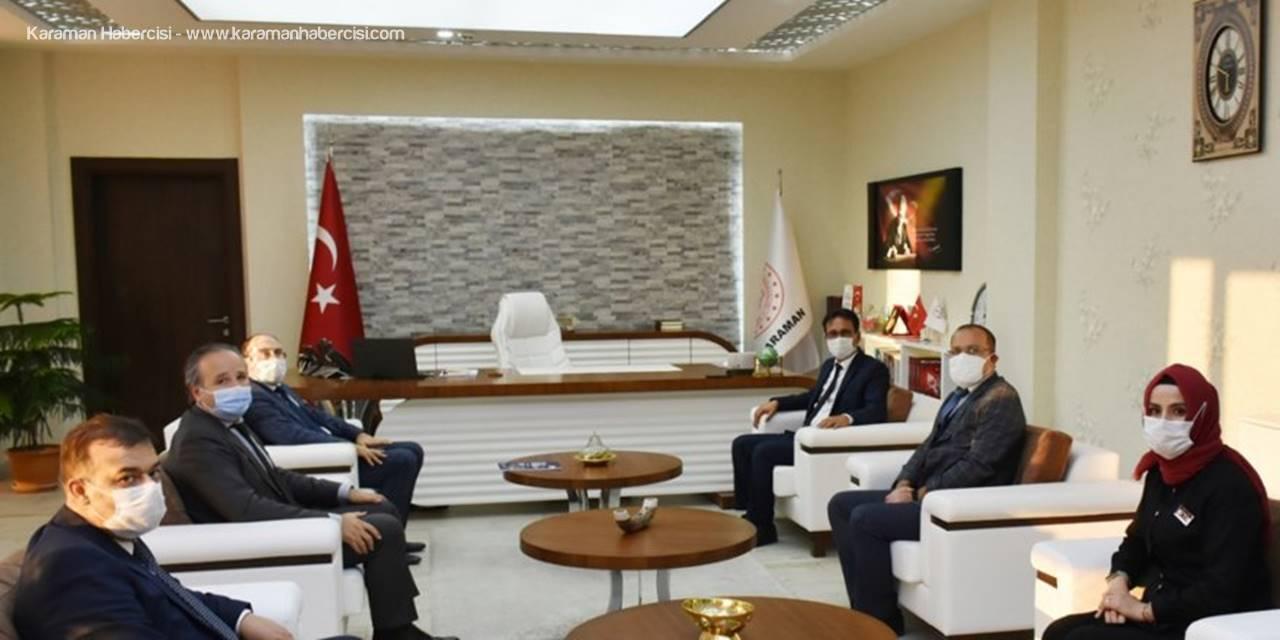 İl Müdürü Çalışkan'a Mevka Genel Sekreteri İhsan Bostancı'dan Ziyaret