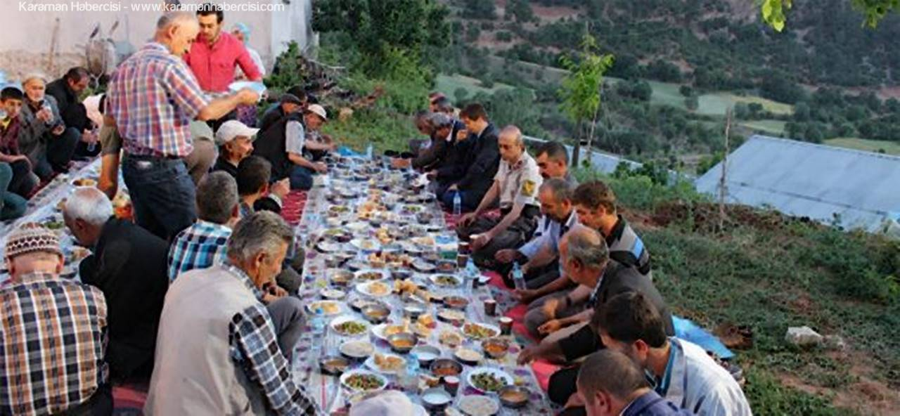 Daran Köyü'nde İftar Yemeği Düzenlendi