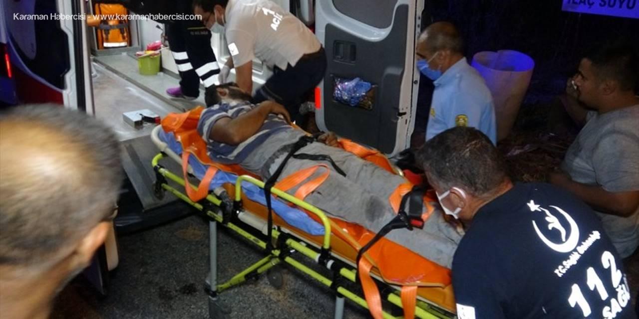 Mersin'de Sandık Deposunda Çıkan Yangın Söndürüldü