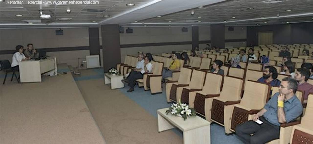 KMÜ'de Web Yönetim Bilgi Sistemi Eğitimi Verildi
