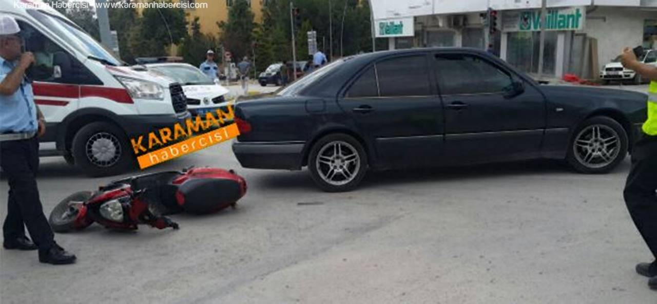Kavşak Çıkışında Kaza
