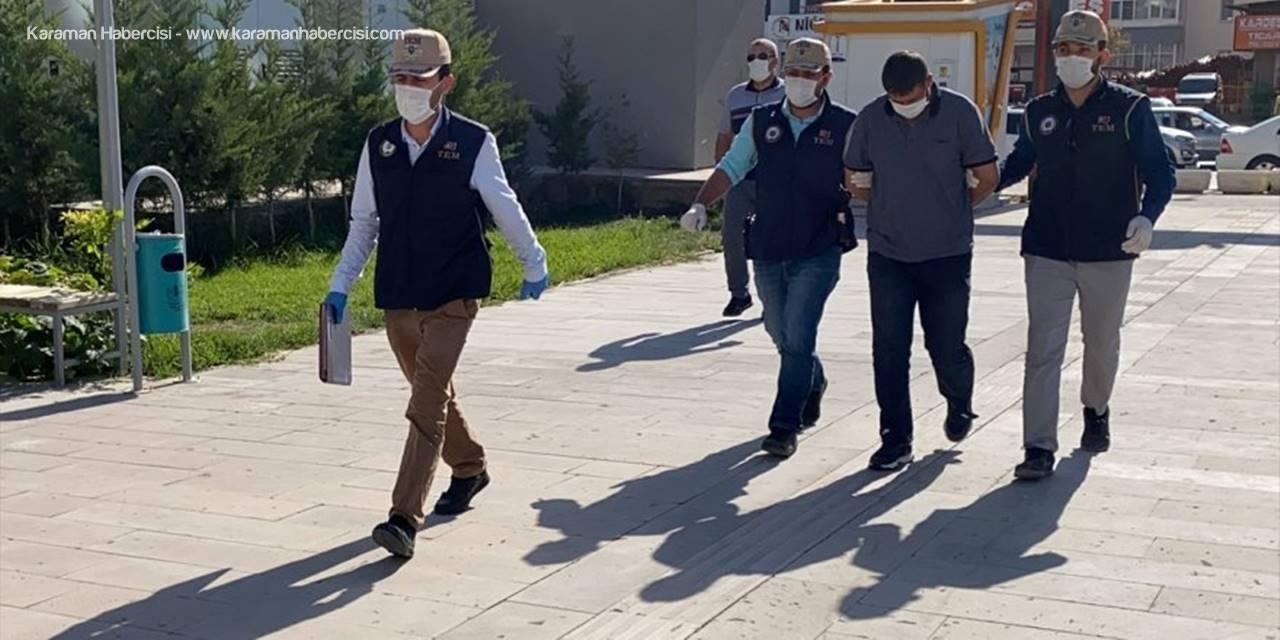 Niğde'de Irak Uyruklu Deaş Şüphelisi Tutuklandı