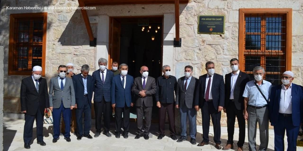 Ilgın'da Restorasyonu Tamamlanan Pir Hüseyin Bey Camii Yeniden İbadete Açıldı