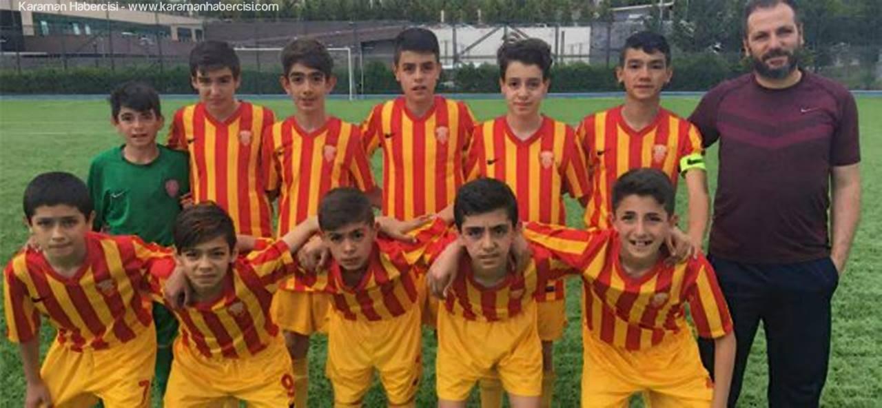 Karaman Belediyespor U13 Takımı 2.Kademede