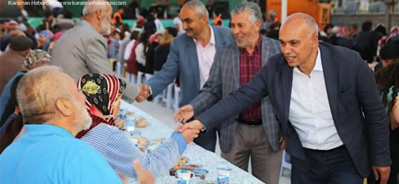 İftar Sofrası, Mehmetbey Mahallesi'nde Kurulacak