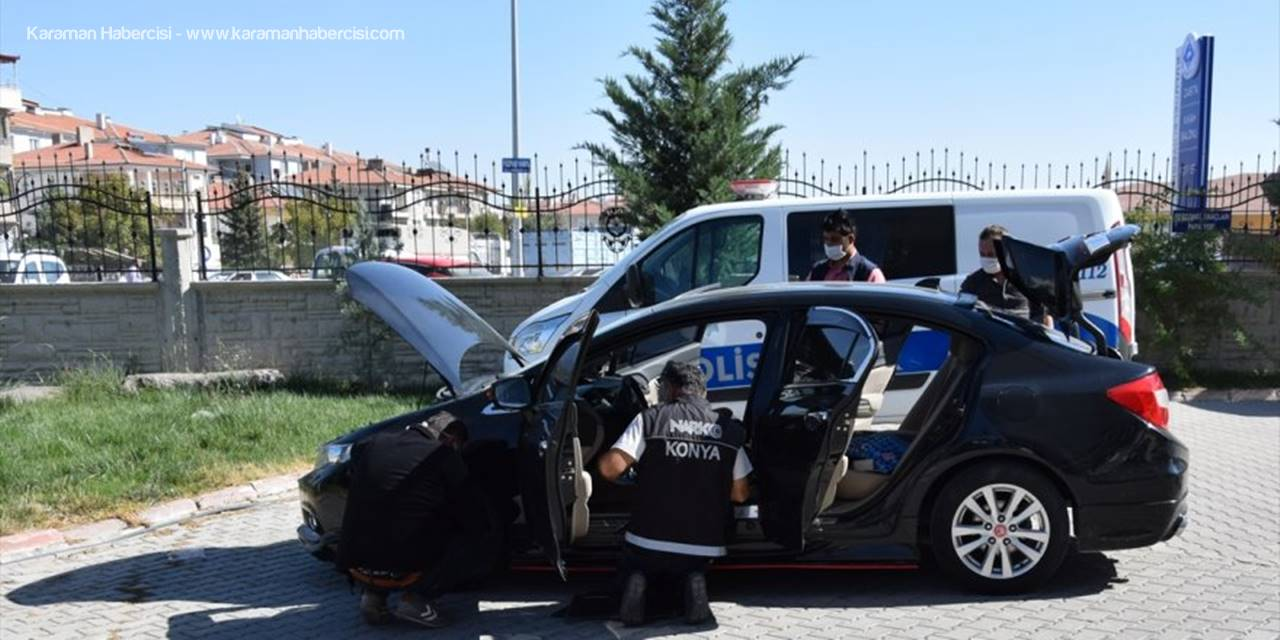 Konya'da Uyuşturucu Operasyonunda Yabancı Uyruklu 4 Zanlı Yakalandı
