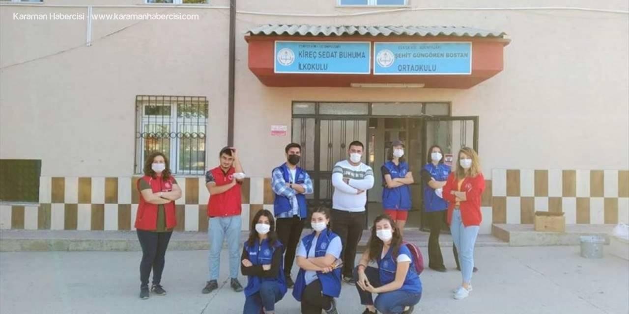 Eskişehir'de Gençler Okulları Renklendiriyor