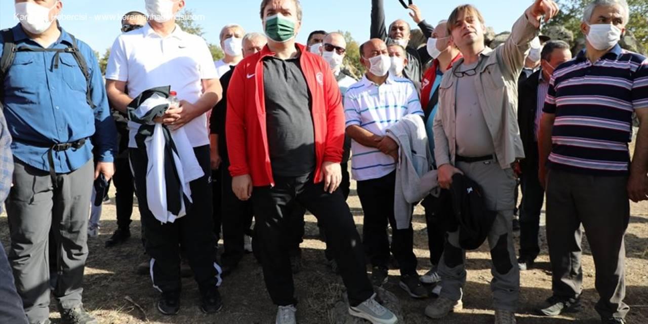 Aksaray'da Sağlıklı Yaşam İçin Doğa Yürüyüşü Yapıldı