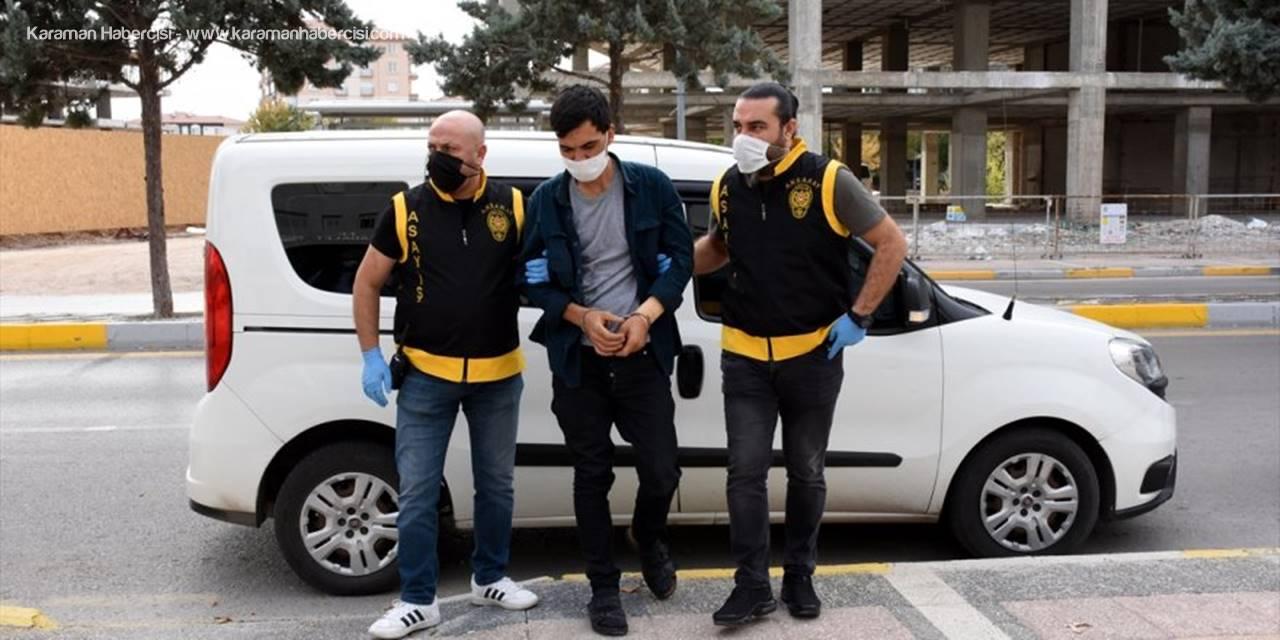Aksaray'da Babasını Öldüren Zihinsel Engelli Genç Tutuklandı