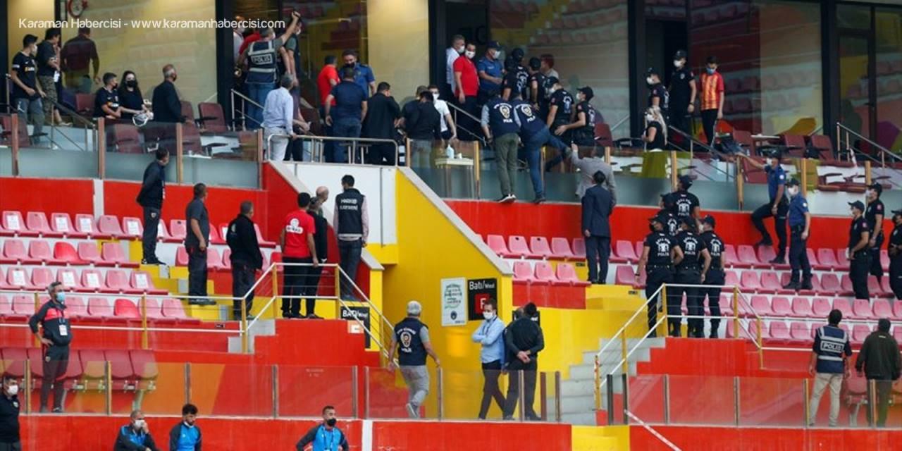 Kayserispor Kulübünden Sivasspor Maçında Tribünde Yaşanan Olaylara Kınama