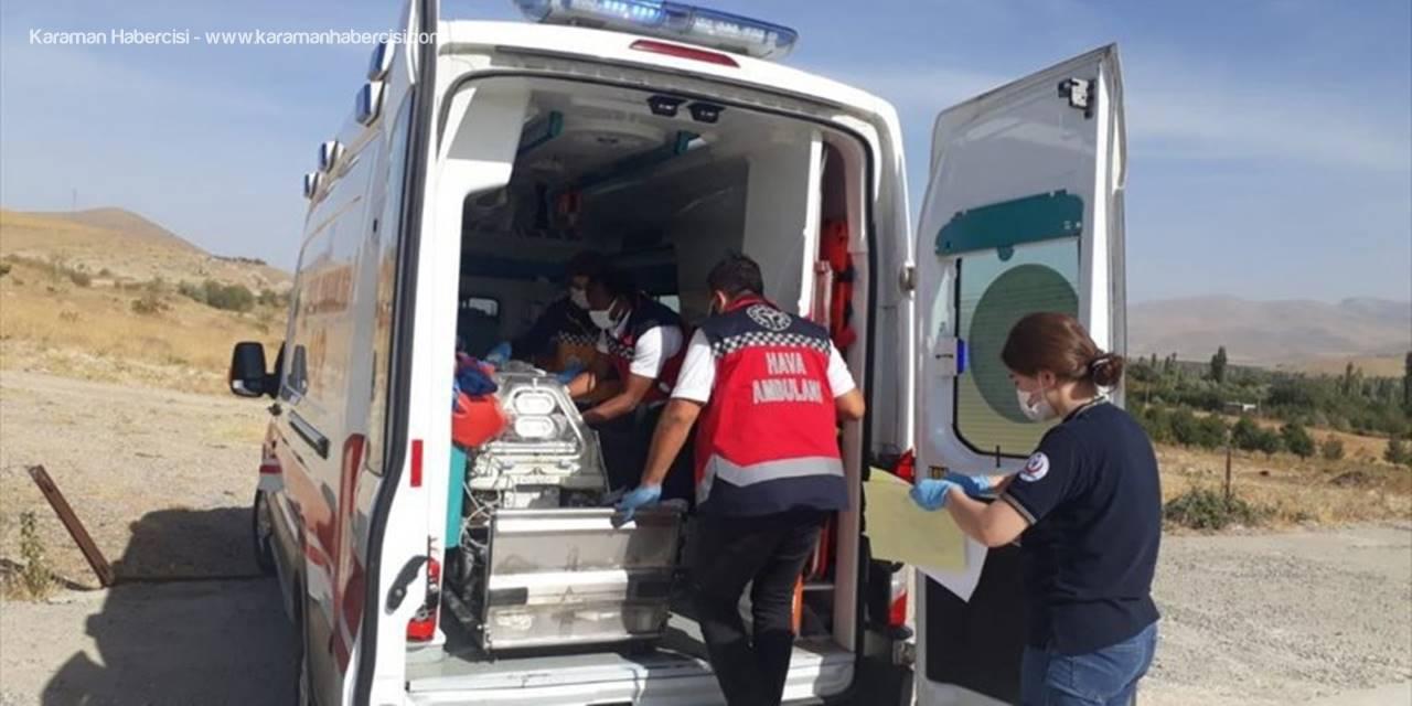 Helikopter Ambulans Yenidoğan Bebek İçin Havalandı