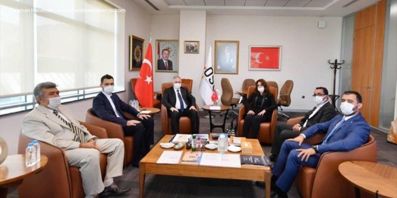 CHP'den Kayseri Osb'ye Ziyaret
