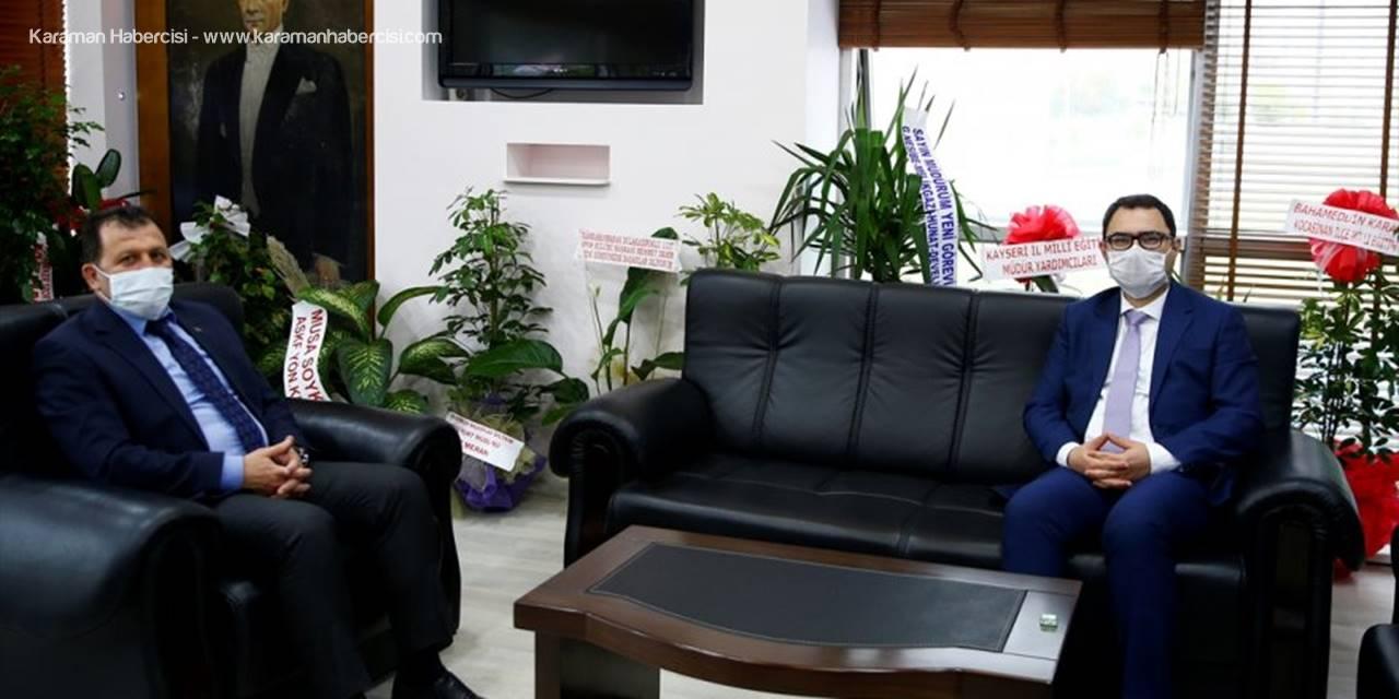 AA'dan Gençlik Ve Spor İl Müdürü Ali İhsan Kabakcı'ya Ziyaret
