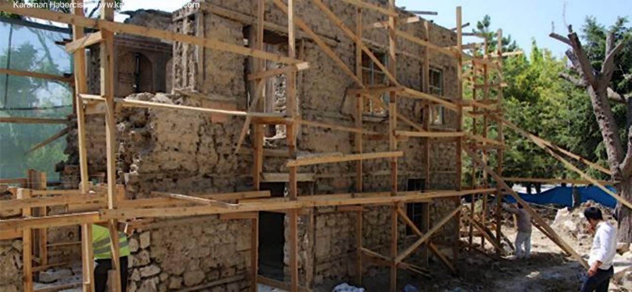 Tarihi Nalıncılar Evi Restore Ediliyor