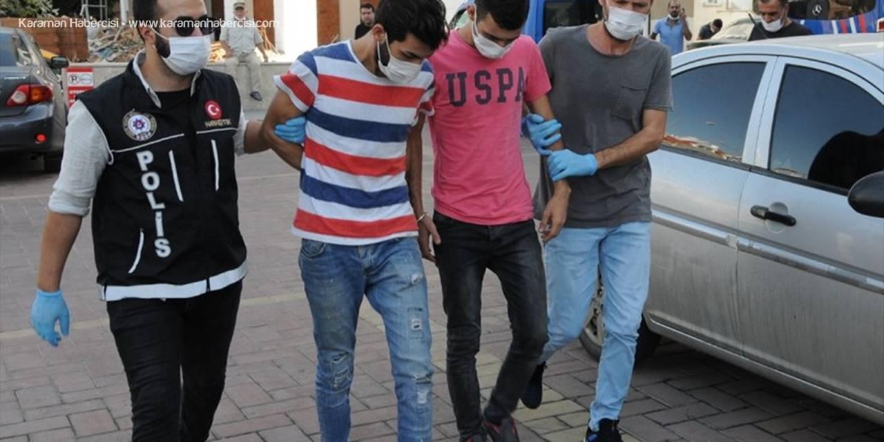 Antalya'da Uyuşturucu Operasyonunda Gözaltına Alınan İki Zanlı Tutuklandı