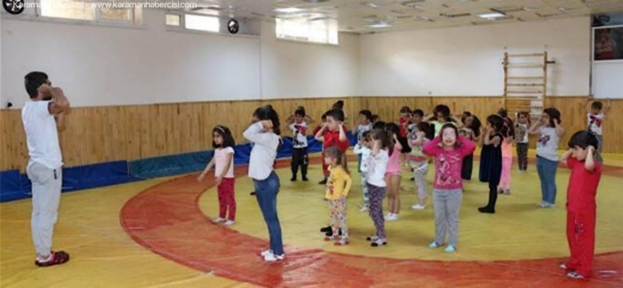 Karaman'da Çocuk ve Gençler İçin Yaz Spor Okulları Kayıtları Devam Ediyor