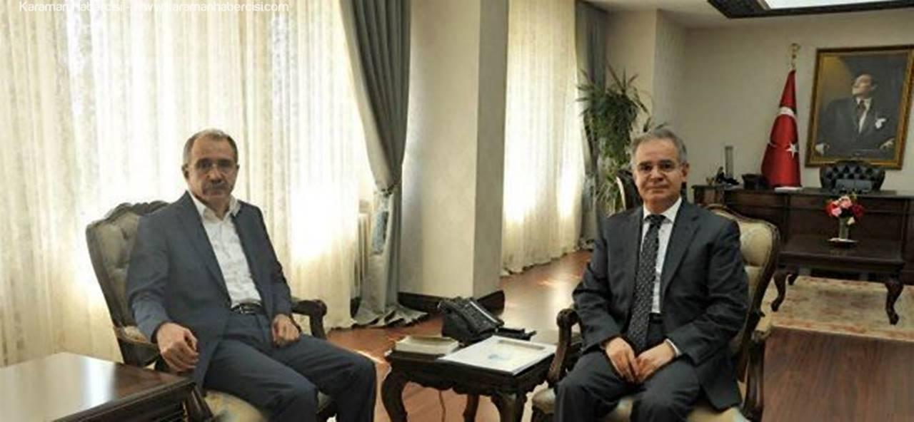 Eski Çalışma ve Sosyal Güvenlik Bakanı ve Milli Eğitim Bakanı, Prof. Dr Ömer Dinçer Karaman'da