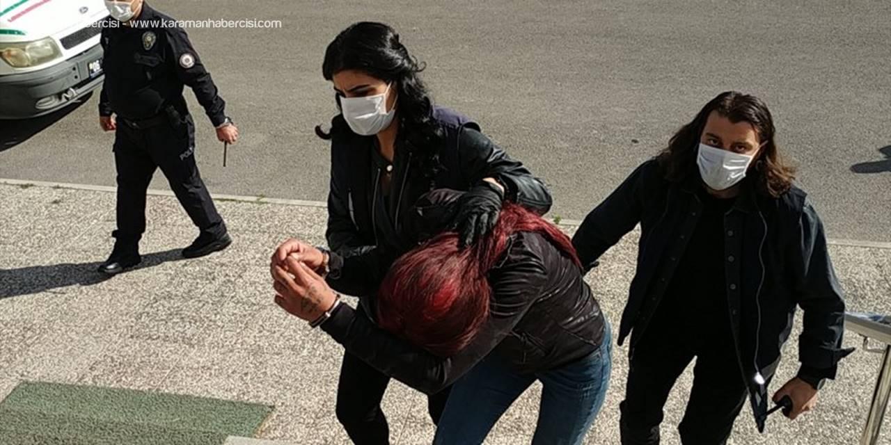 Karaman'da Gardiyanı Tabancayla Yaralayan Kadın Tutuklandı