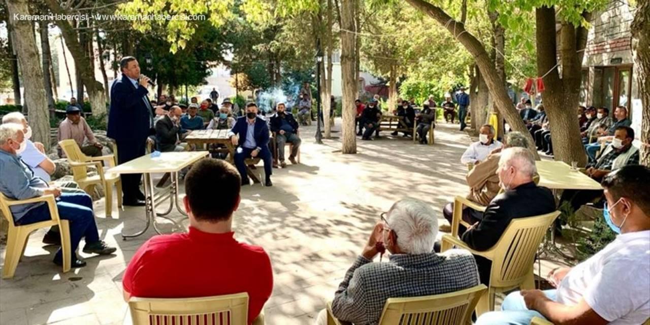CHP Niğde Milletvekili Gürer, Patates Üreticileriyle Bir Araya Geldi