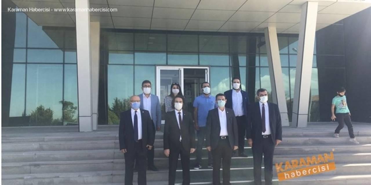 CHP Teşkilatı Karaman'da KOBİ Ziyaretleri Gerçekleştirdi