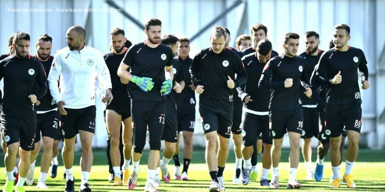 Konyaspor'da Gaziantep FK Maçının Hazırlıkları Tamamlandı