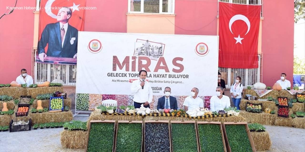 Tarsus Belediyesi Gen Bankası'nda Ata Tohum Sayısı 20 Milyona Ulaştı