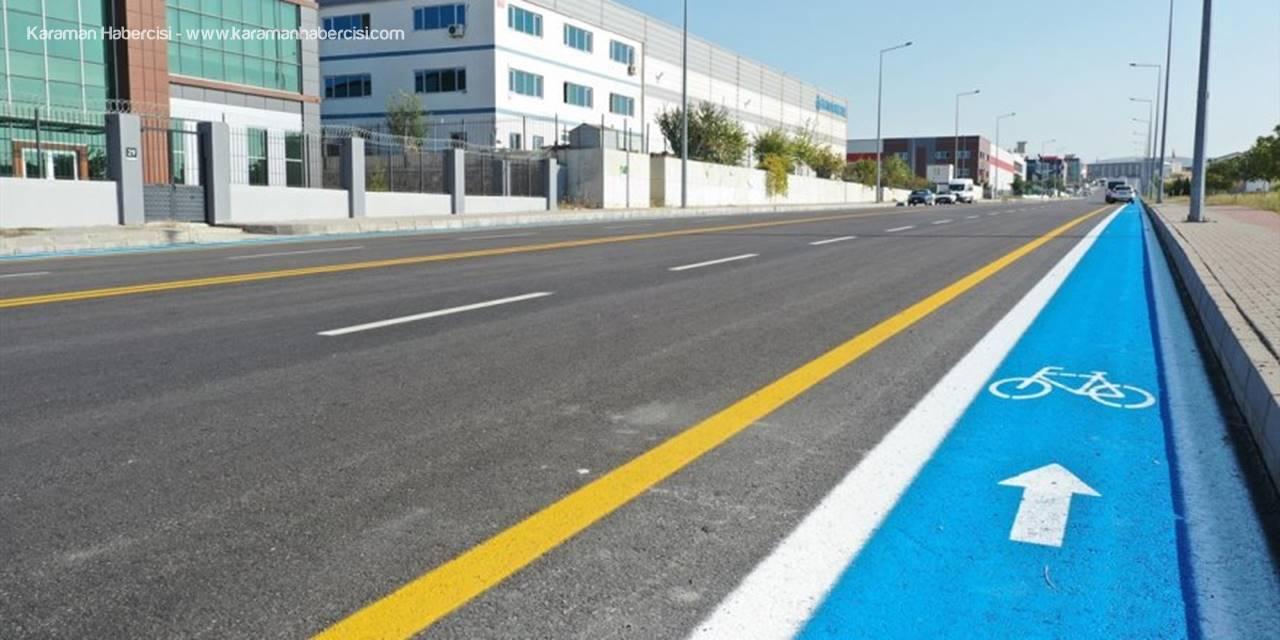 Anadolu Organize Sanayi Bölgesi'ne Bisiklet Yolu