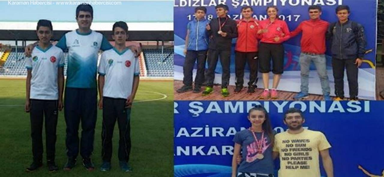 Karamanlı Sporcular Madalya Dolu Bir Hafta Geçirdi